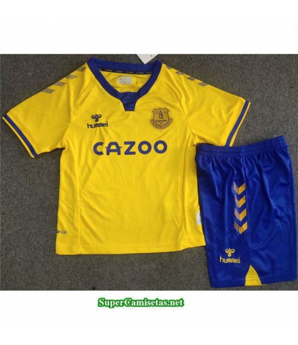 Tailandia Segunda Equipacion Camiseta Everdeon Niños 2020/21