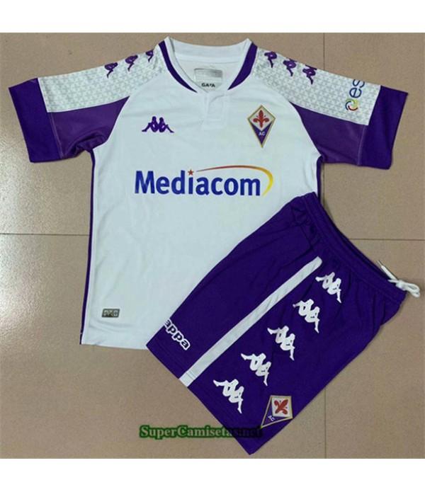 Tailandia Segunda Equipacion Camiseta Fiorentina Niño 2020/21