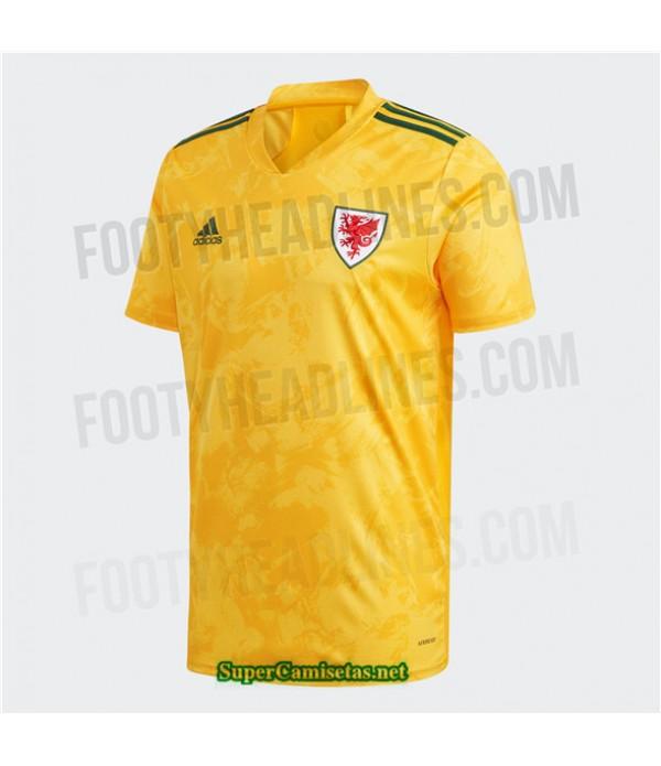 Tailandia Segunda Equipacion Camiseta Gales 2020/21