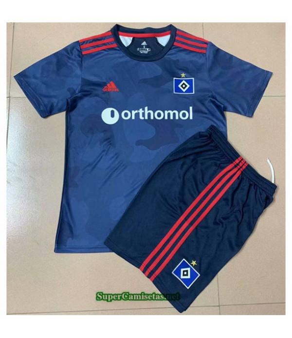 Tailandia Segunda Equipacion Camiseta Hamburgo Niño 2020/21