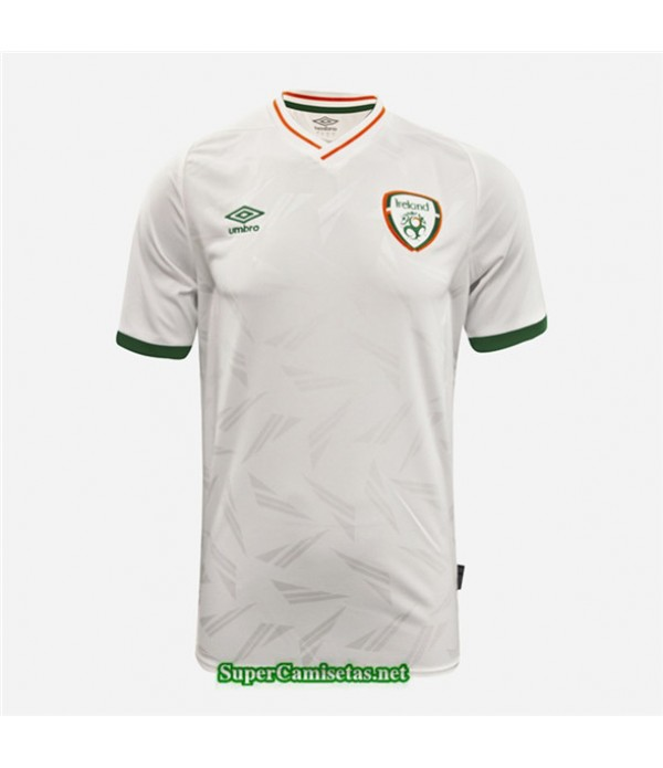 Tailandia Segunda Equipacion Camiseta Irlanda Blanco 2020/21