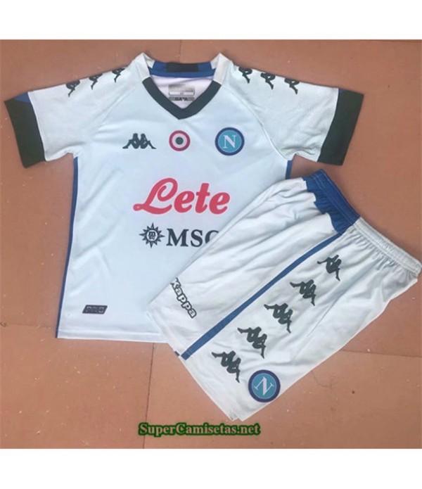 Tailandia Segunda Equipacion Camiseta Napoli Niños 2020/21