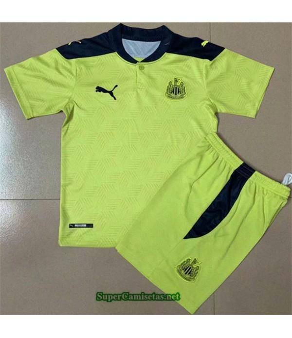 Tailandia Segunda Equipacion Camiseta Newcastle United Niños 2020/21