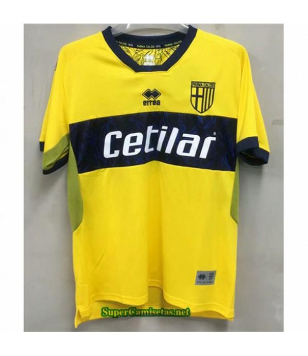 Tailandia Segunda Equipacion Camiseta Parma Amarillo 2020/21