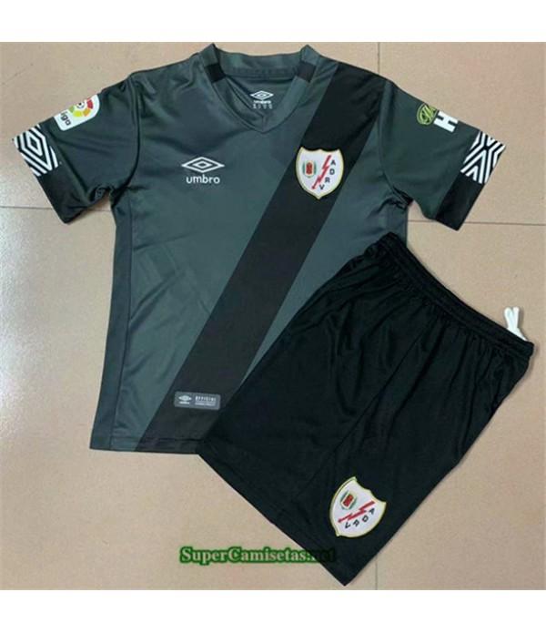 Tailandia Segunda Equipacion Camiseta Rayo Vallecano Niño 2020/21
