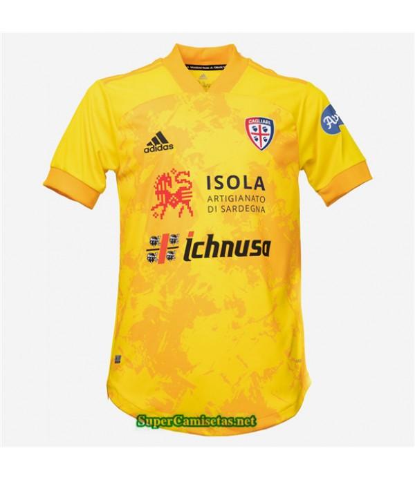 Tailandia Tercera Equipacion Camiseta Cagliari 2020/21