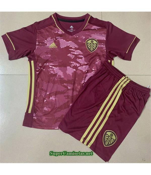 Tailandia Tercera Equipacion Camiseta Leeds United Niños 2020/21