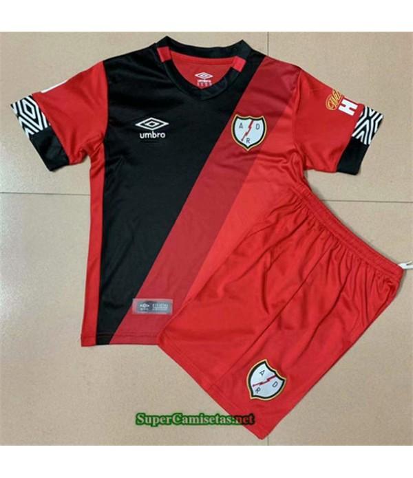 Tailandia Tercera Equipacion Camiseta Rayo Vallecano Niño 2020/21