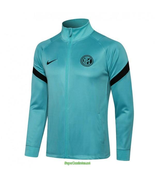 Tailandia Camiseta Inter Milan Chaqueta Verde Col Haut 2021
