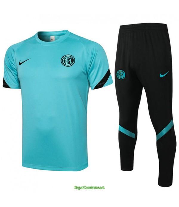 Tailandia Camiseta Kit De Entrenamiento Inter Milan Verde 2021