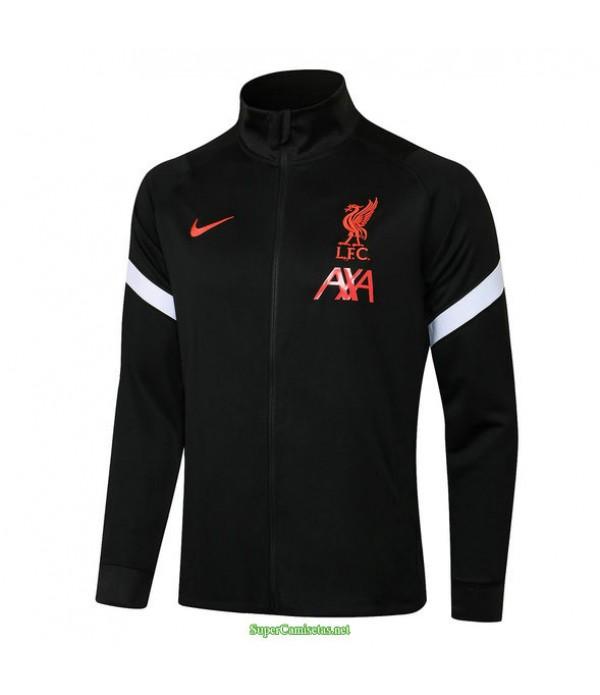 Tailandia Camiseta Liverpool Chaqueta Negro 2021