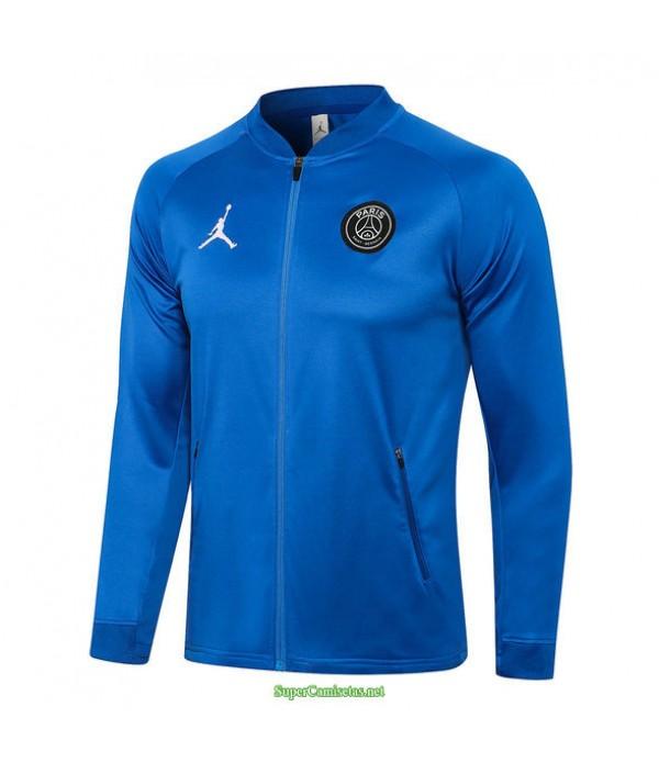 Tailandia Camiseta Psg Jordan Chaqueta Azul 2021