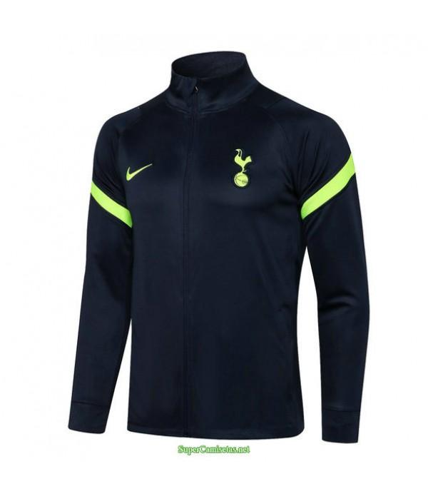 Tailandia Camiseta Tottenham Hotspur Chaqueta Azul Marino 2021