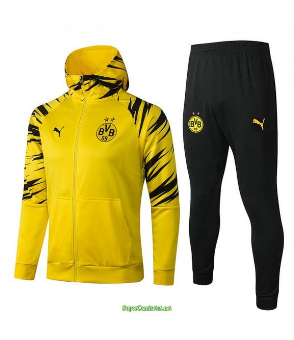 Tailandia Chandal Con Capucha Borussia Dortmund Amarillo 2021