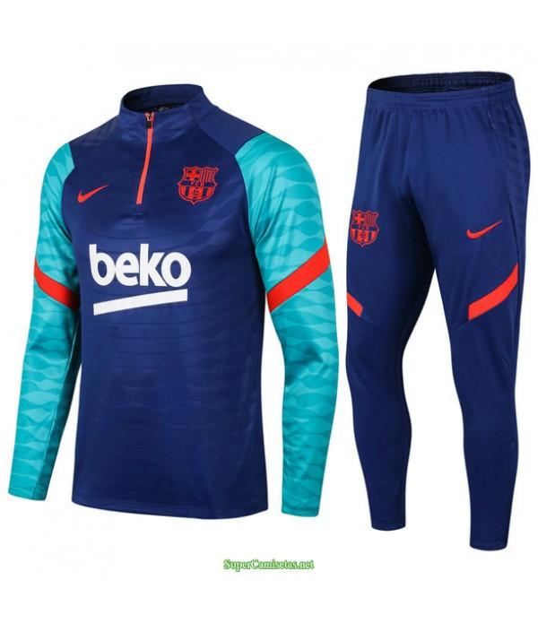 Tailandia Chandal De Foot Barcelona Azul Coloré/rojo 2021