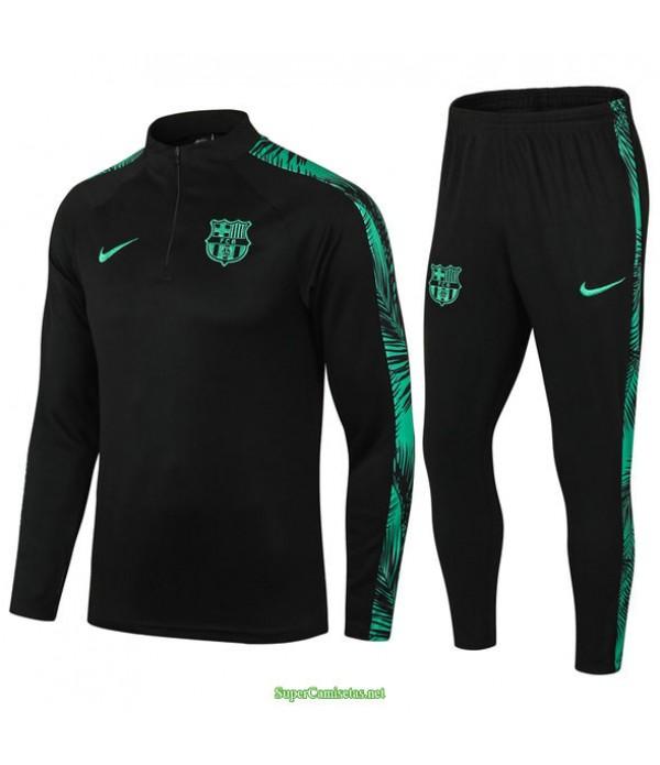 Tailandia Chandal De Foot Barcelona Negro/verde 2021