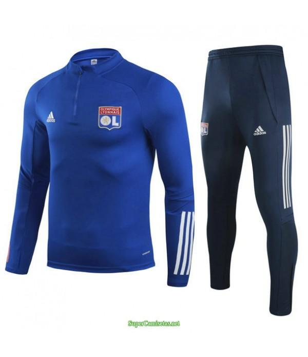 Tailandia Chandal De Foot Lyon Azul Real 2021