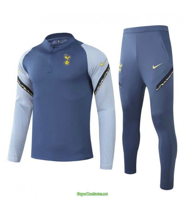 Tailandia Chandal De Foot Tottenham Hotspur Azul/gris 2021