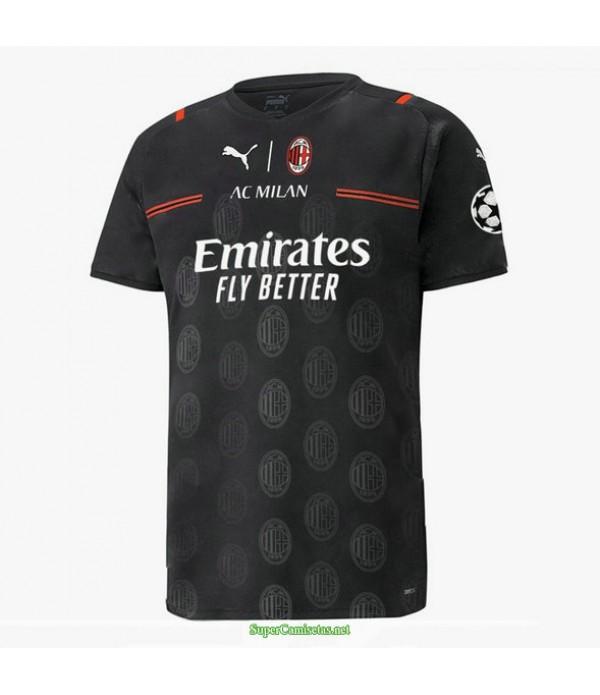 Tailandia Equipacion Camiseta Ac Milan Concept Neg...