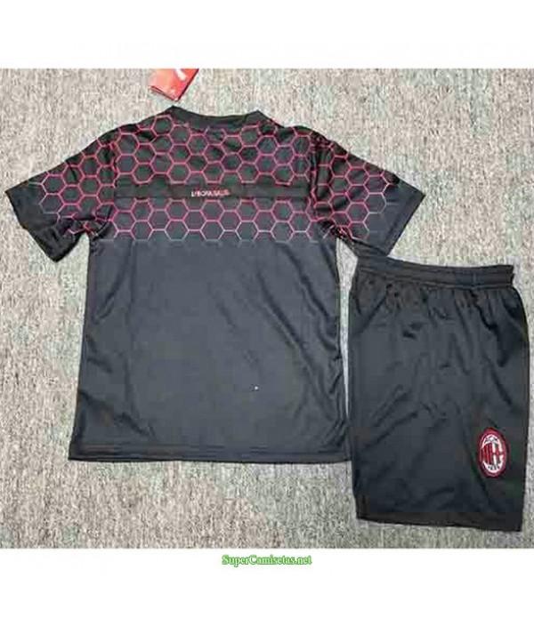 Tailandia Equipacion Camiseta Ac Milan Ninos Balr 2020