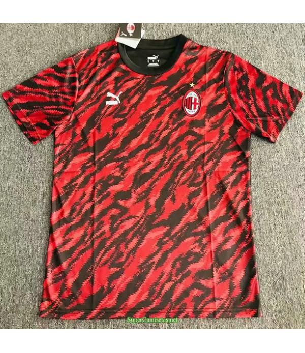 Tailandia Equipacion Camiseta Ac Milan Pre Match E...