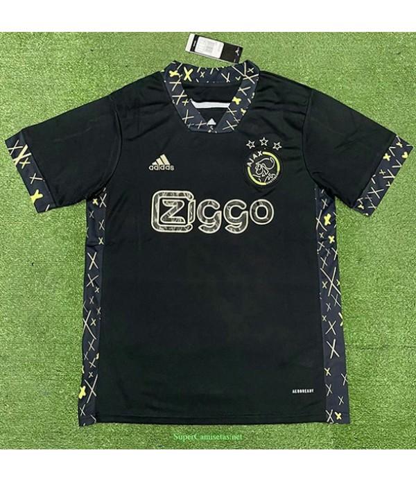 Tailandia Equipacion Camiseta Ajax Edición Especial Negro 2021
