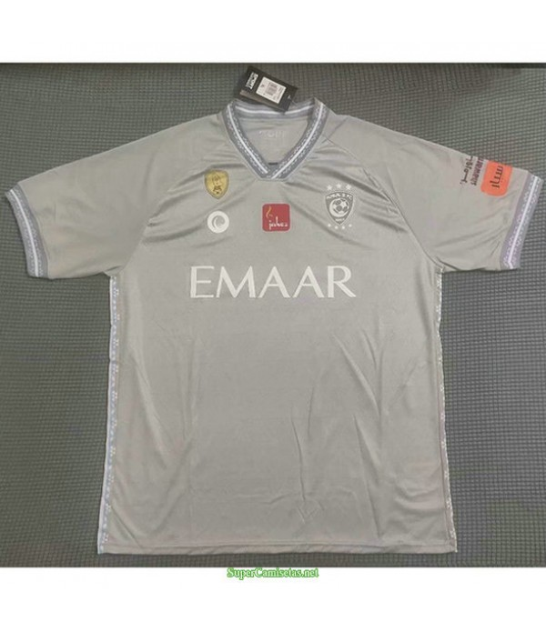 Tailandia Equipacion Camiseta Al Hilal Gris 2021