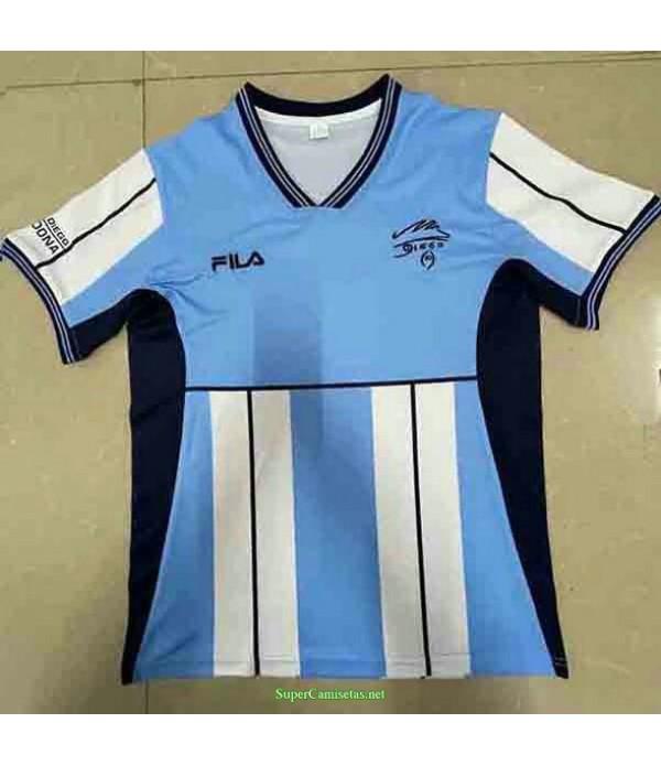 Tailandia Equipacion Camiseta Argentina Diego Maradona Hombre 2001