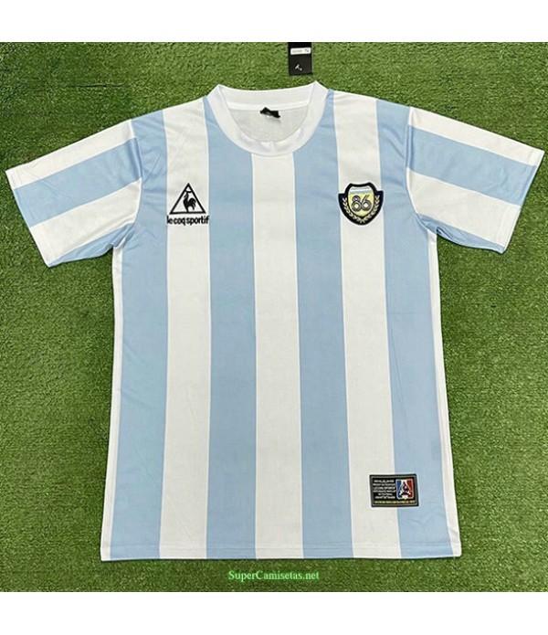 Tailandia Equipacion Camiseta Argentina Edición Conmemorativa Del Campeón Hombre 1986