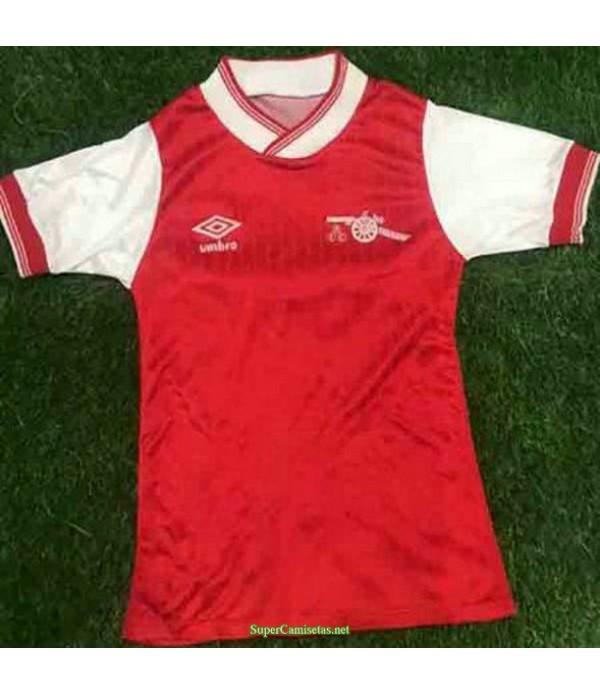 Tailandia Equipacion Camiseta Arsenal Rojo Hombre 1984 85
