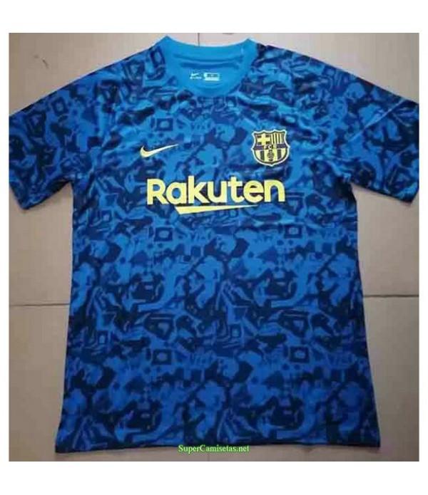 Tailandia Equipacion Camiseta Barcelona Azul Pre M...