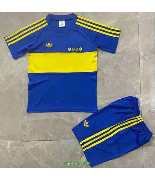 Tailandia Equipacion Camiseta Boca Juniors Ninos Hombre 1981