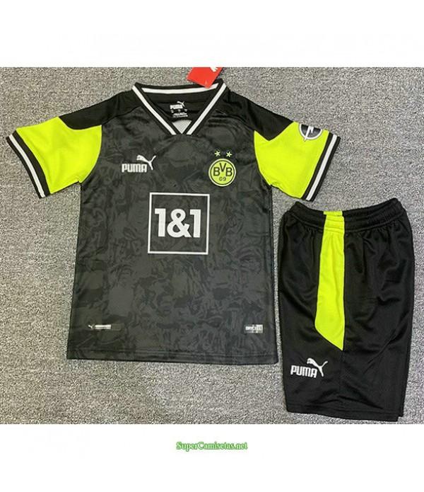 Tailandia Equipacion Camiseta Borussia Dortmund Ni...