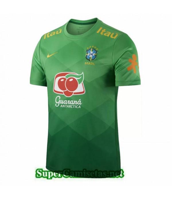 Tailandia Equipacion Camiseta Brasil Pre Match Entrenamiento 2021