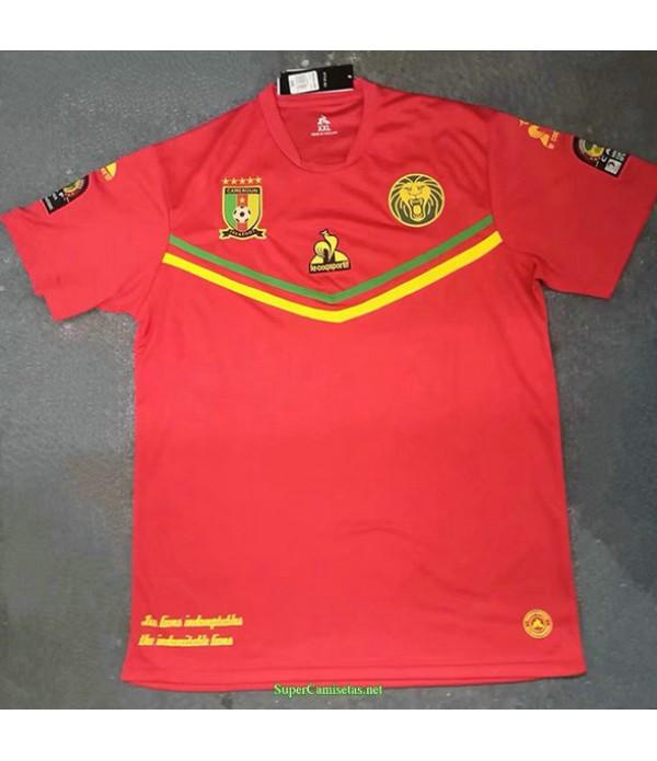 Tailandia Equipacion Camiseta Camerun Rojo 2021