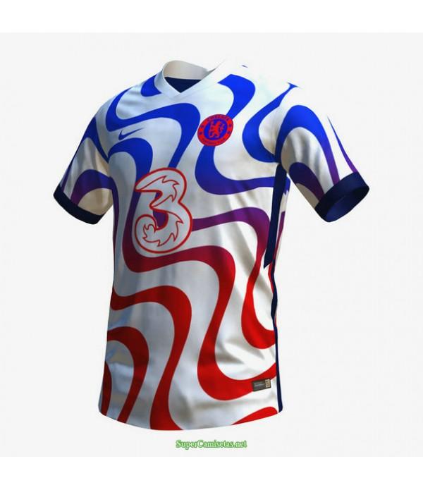 Tailandia Equipacion Camiseta Chelsea Concepto 202...