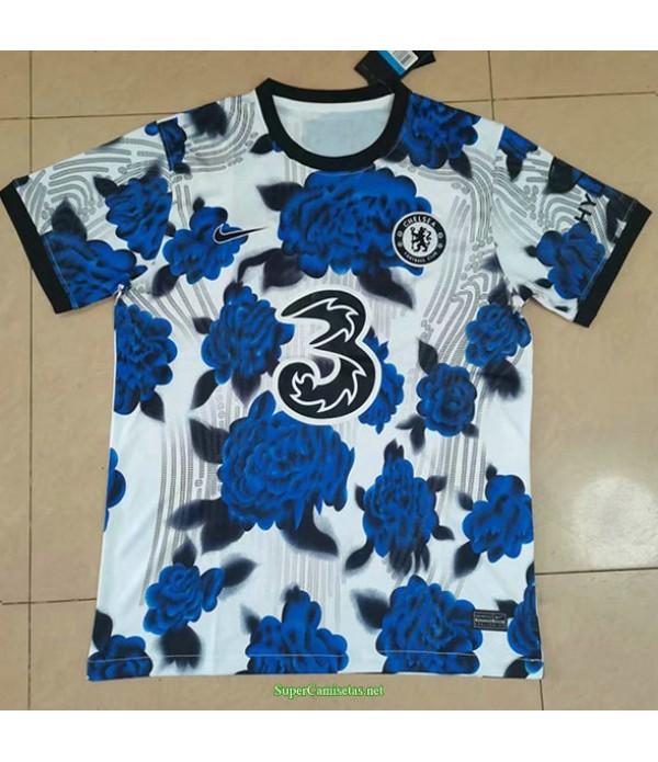 Tailandia Equipacion Camiseta Chelsea Pattern 2021