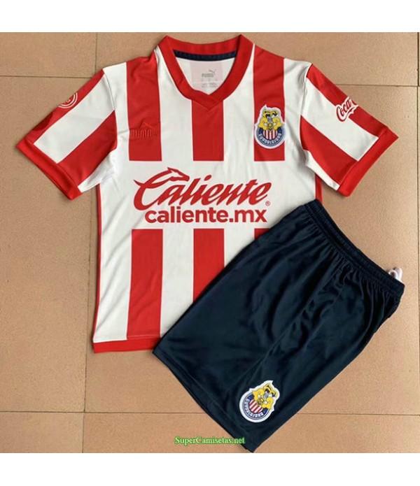 Tailandia Equipacion Camiseta Chivas Regal Ninos 115 Aniversario 2021