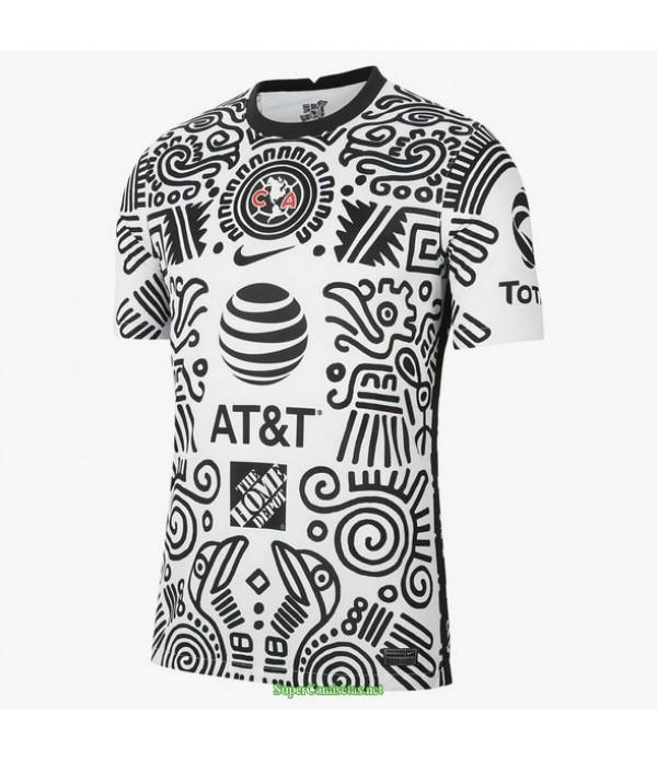 Tailandia Equipacion Camiseta Club America Entrenamiento 2021