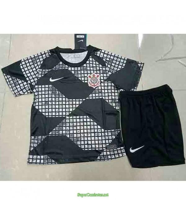 Tailandia Equipacion Camiseta Corinthians Ninos 2021