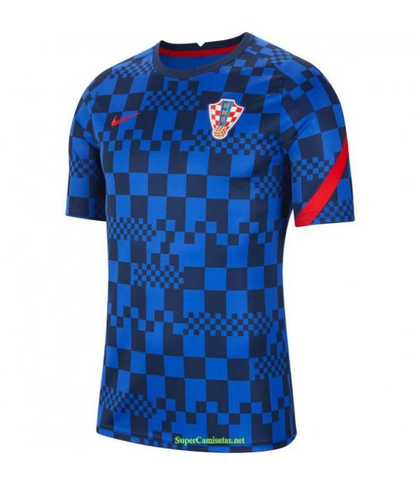 Tailandia Equipacion Camiseta Croacia Entrenamiento 2021