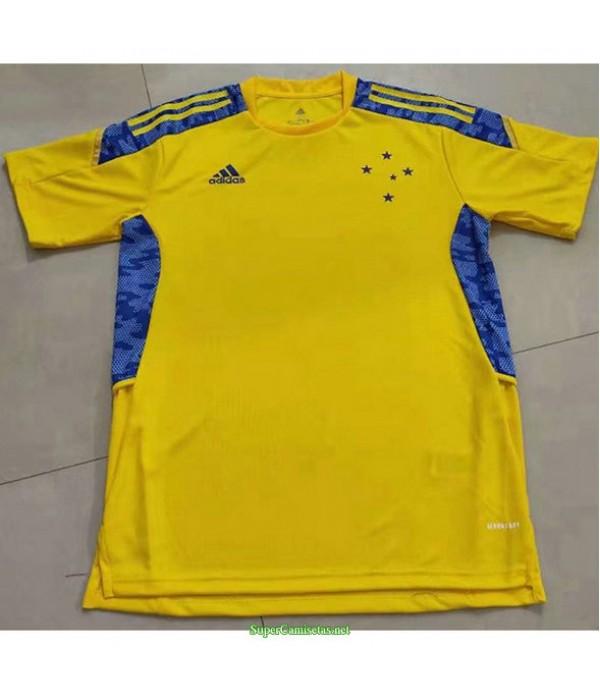 Tailandia Equipacion Camiseta Cruzeiro Portero 2021