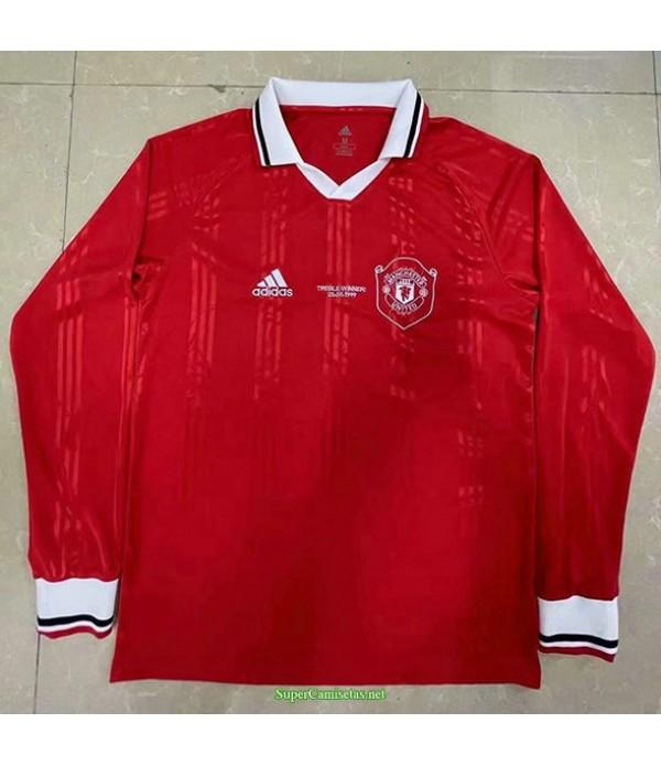 Tailandia Equipacion Camiseta Hombre Manchester United Manga Larga