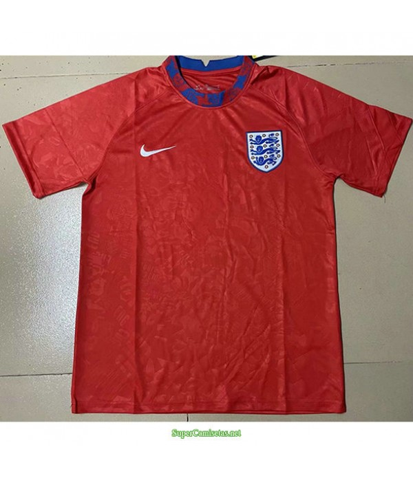 Tailandia Equipacion Camiseta Inglaterra Pre Match Entrenamiento Rojo 2021