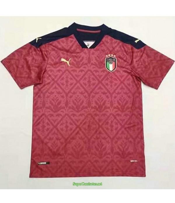Tailandia Equipacion Camiseta Italia Rojo 2021