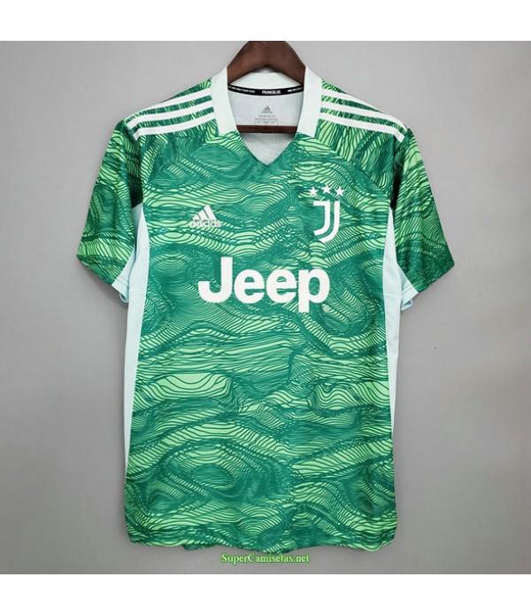 Tailandia Equipacion Camiseta Juventus Portero Ver...