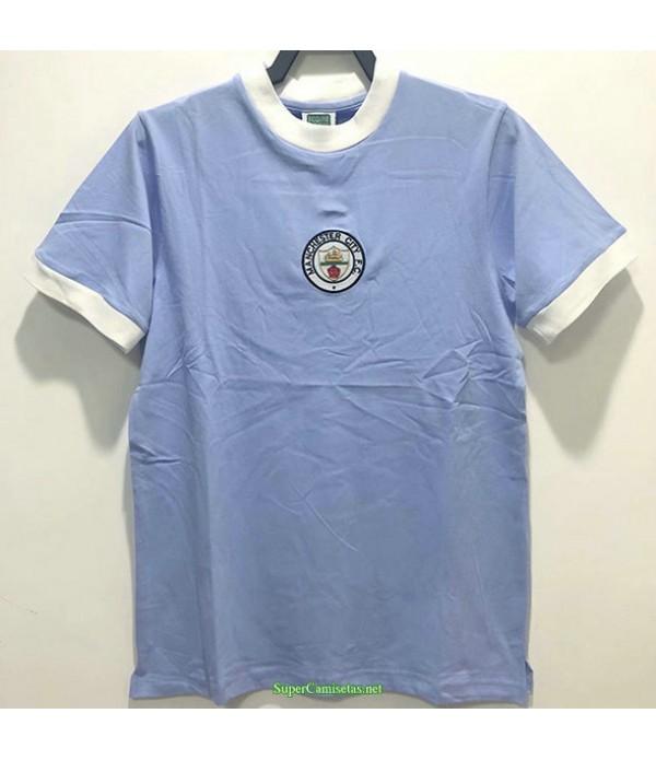 Tailandia Equipacion Camiseta Manchester City Hombre 1972