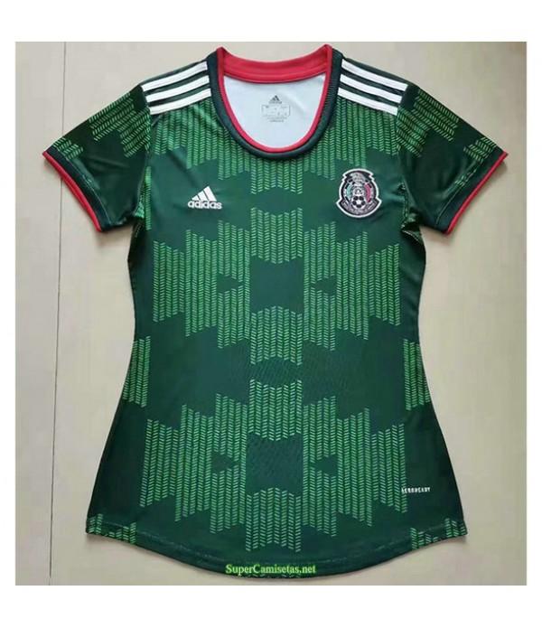 Tailandia Equipacion Camiseta México Mujer Verde 2021