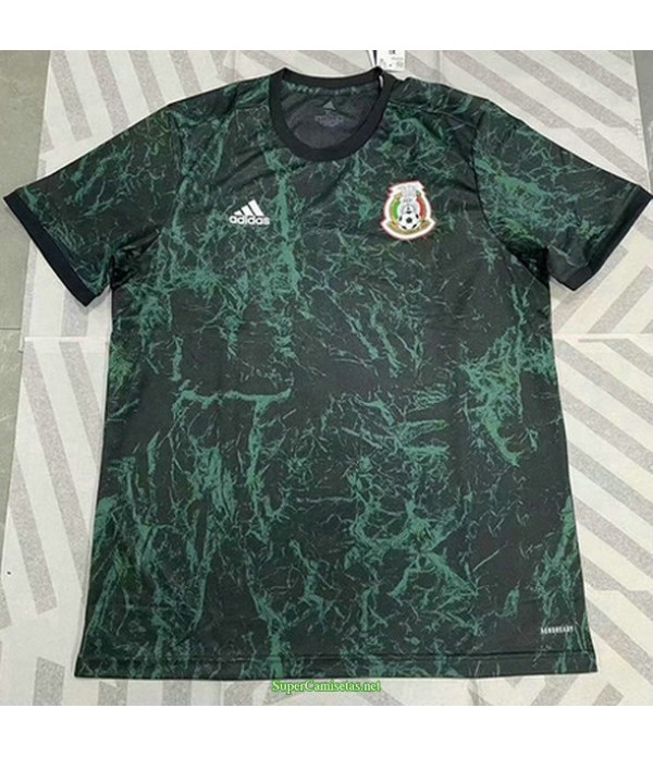 Tailandia Equipacion Camiseta México Pre Match Entrenamiento 2021