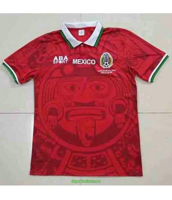 Tailandia Equipacion Camiseta México Rojo Hombre 1998